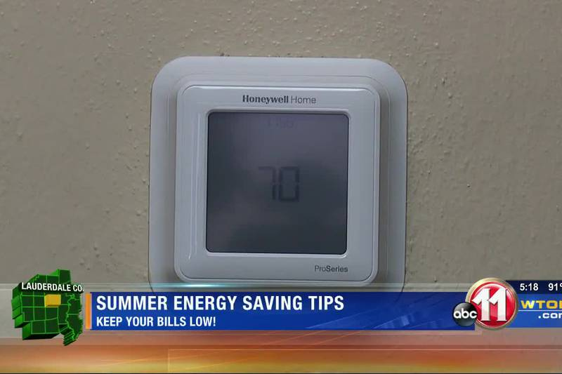 Saving on your energy bill this summer