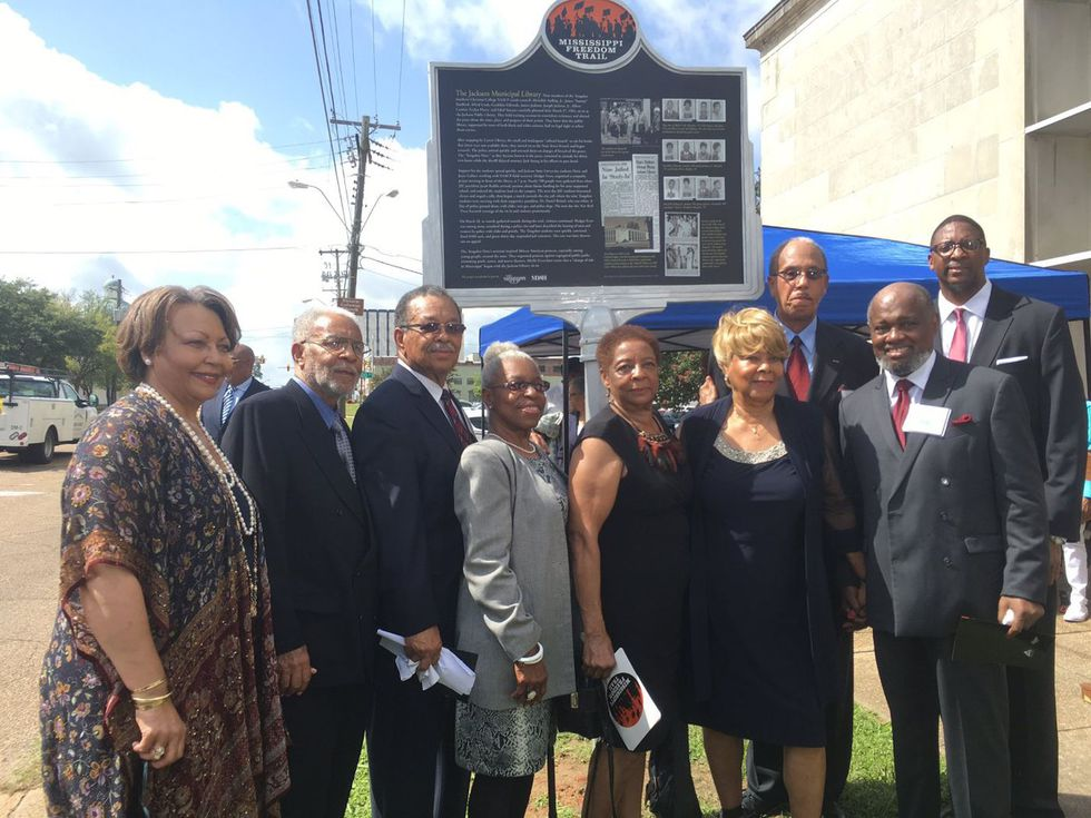 In 2017, the Tougaloo Nine received a Freedom Trail Marker in their honor.