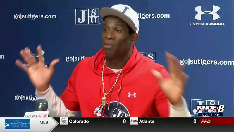 """Jackson State Head Coach Deion Sanders explains his view on a """"pay day."""""""