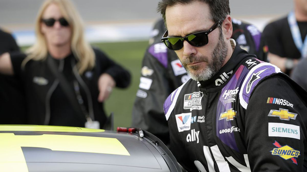 NASCAR seven-time champion Jimmie Johnson will test an Indy car next week on the road course...