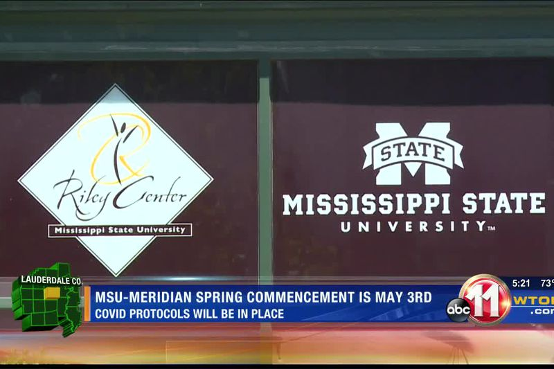 MSU-Meridian sets spring commencement with COVID protocols in place