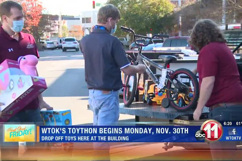 WTOK gets help in kick starting annual Toython campaign