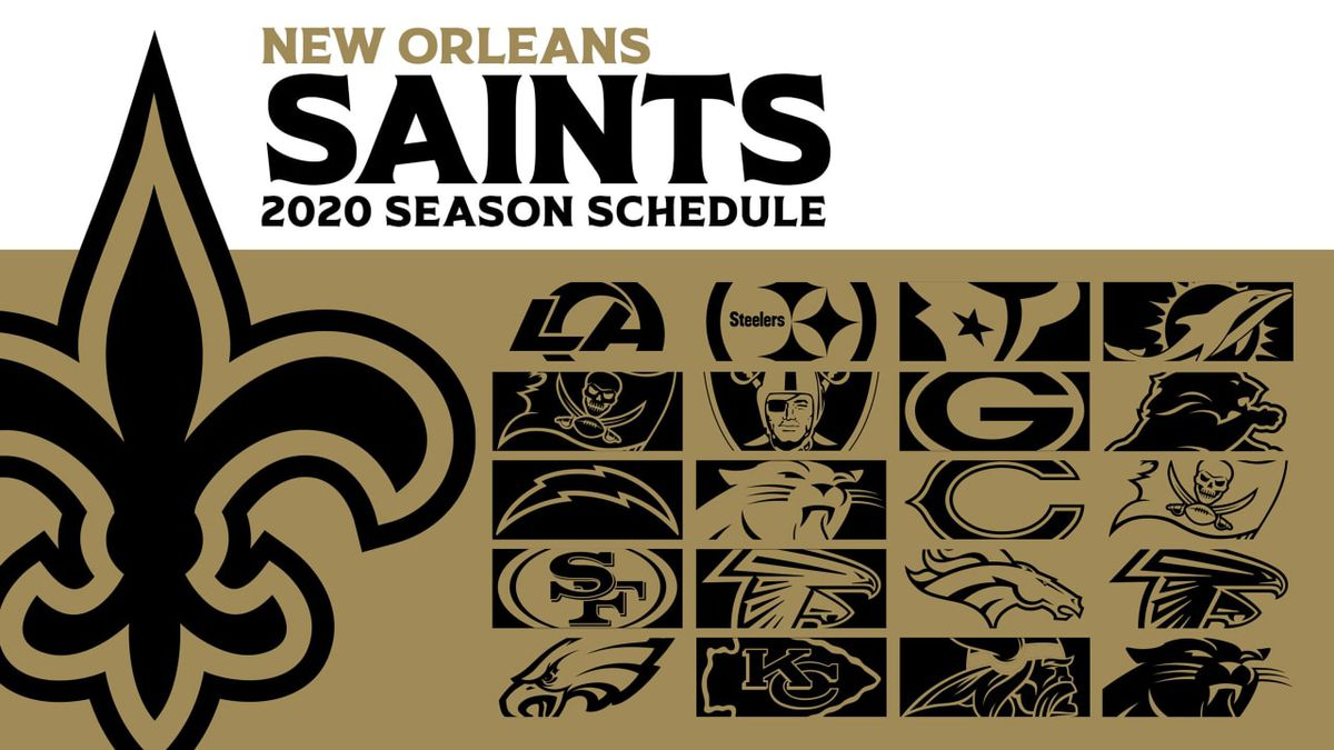 Christmas Forecast 2020 For New Orleans Saints 2020 schedule includes four primetime games and Christmas