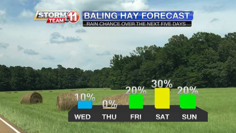 The chance for rain will return to our forecast on Friday and Saturday, and could trend higher...
