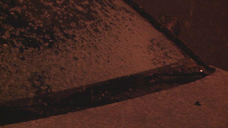 Snow in Philadelphia, MS.