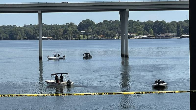 Three children were reportedly thrown from Cross Lake bridge on Friday, Sept. 24, 2021. One of...