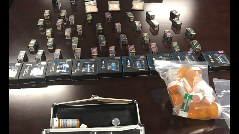 Meridian police confiscate numerous pills after drug investigation