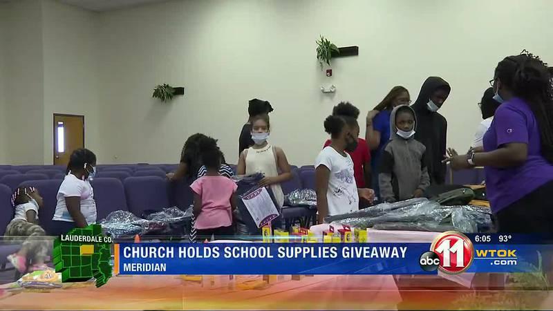 Church School Supply Drive