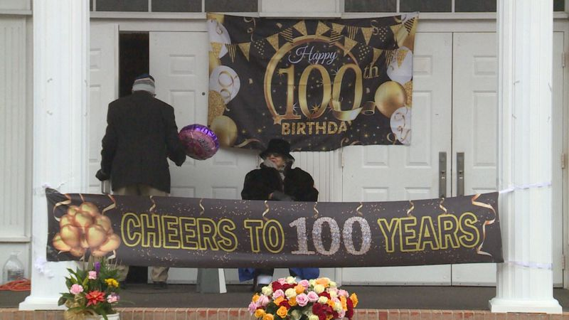 Zeder Quinn celebrated her 100th birthday Saturday at Mt. Olive Missionary Baptist Church.
