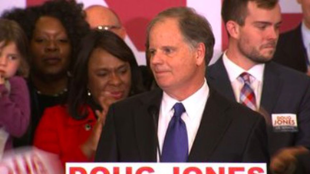 Sen. Doug Jones will speak Monday at the Democrat National Convention