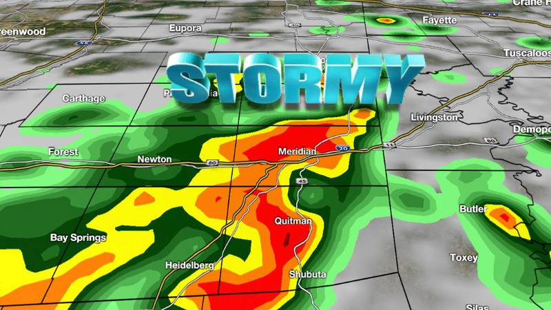 Another round of afternoon showers and thunderstorms is likely on Wednesday.