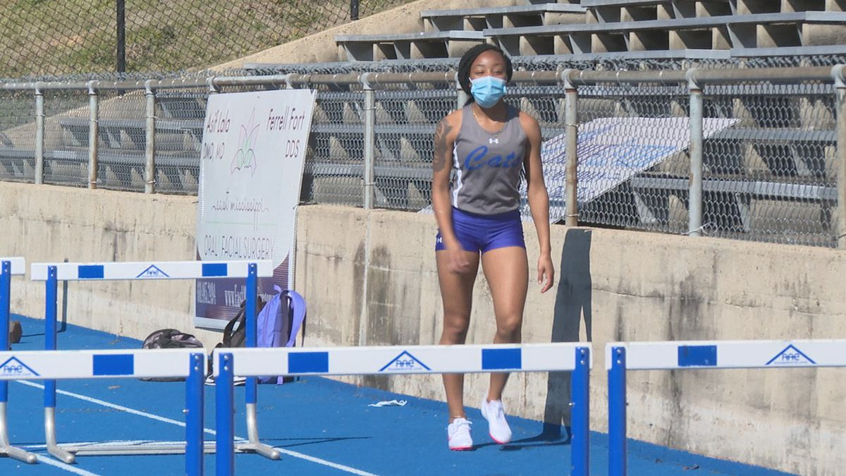 Meridian High School began the 2021 track and field season on Monday at Ray Stadium