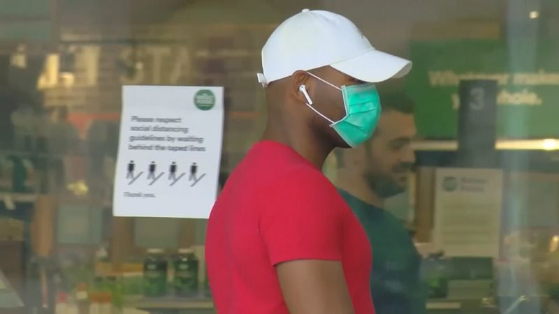 Mayor Bland is extending the city's face mask ordinance until April 30th because he said the...