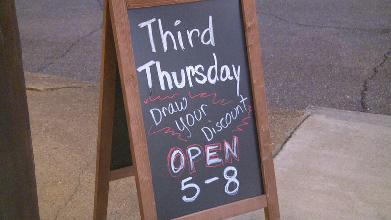 Third Thursday.
