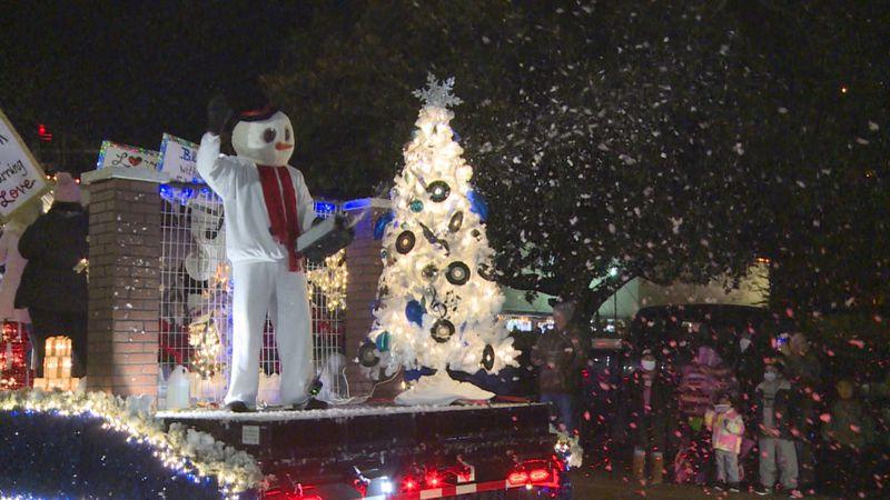 Philadelphia Christmas parade.