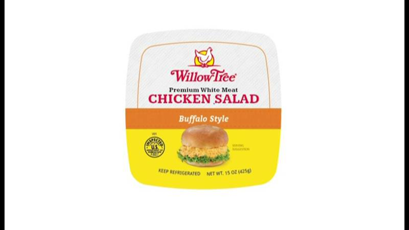 About 52,000 pounds of chicken salad and dip products are being recalled due to possible...