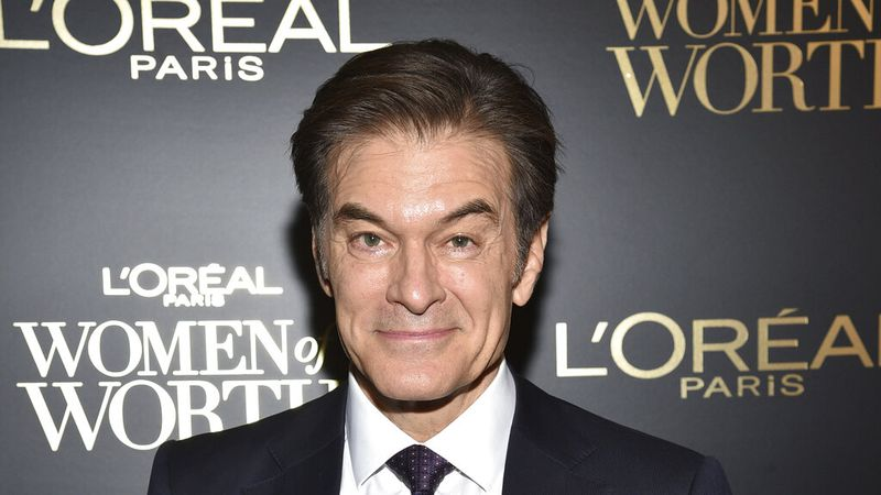 FILE - This Dec. 4, 2019 file photo shows Dr. Mehmet Oz at the 14th annual L'Oreal Paris Women...