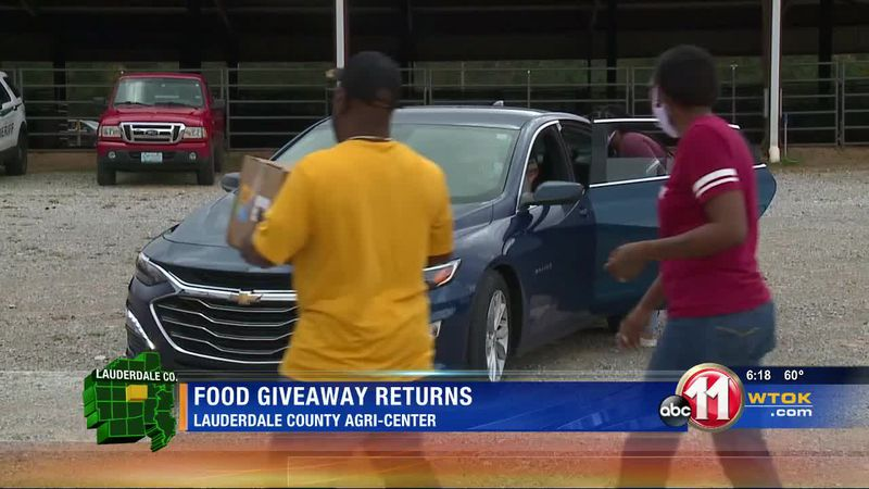 Food giveaway returns to Lauderdale County