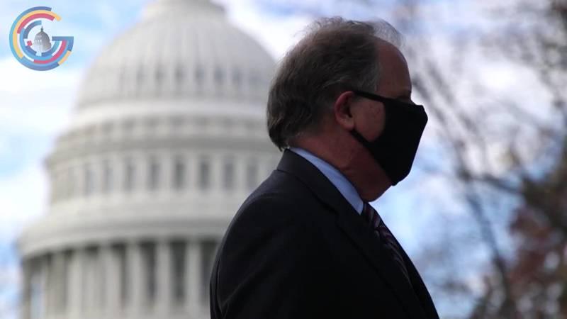 Doug Jones prepares to leave Capitol Hill