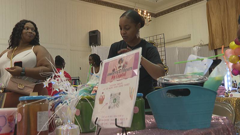 Girl's Talk held a pop-up shop event at the temple theatre for entrepreneurs and business...