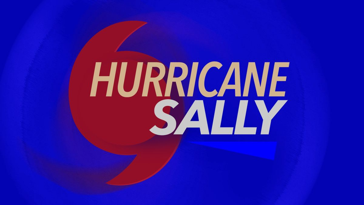 Sally was classified a hurricane Monday morning