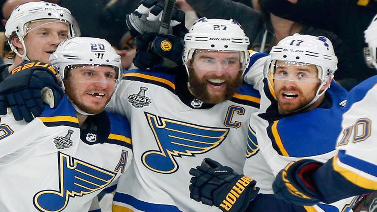 Arch Madness Blues Win 1st Stanley Cup Beating Bruins 4 1