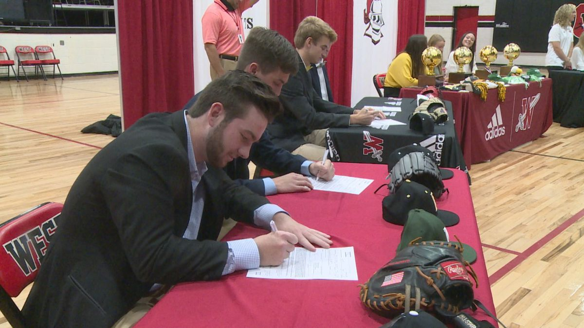 Eight student-athletes from West Lauderdale signed National Letters of Intent on Wednesday...