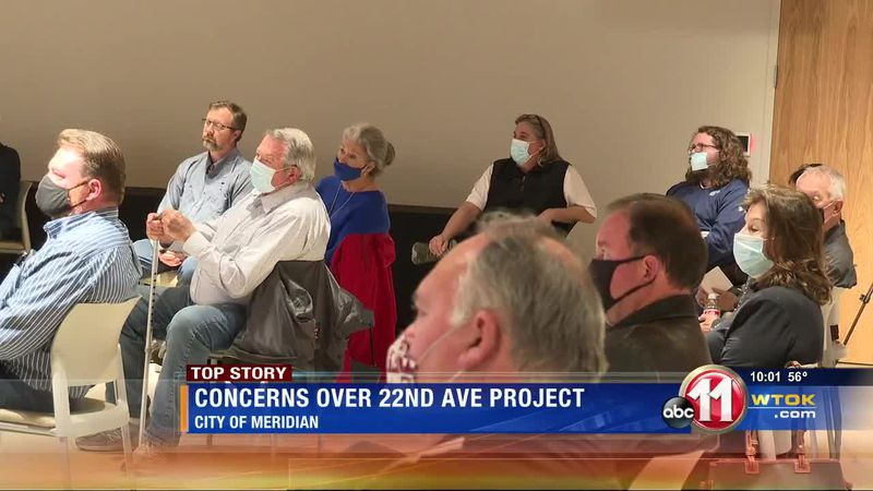 Meridian business owners meet with city leaders about downtown project