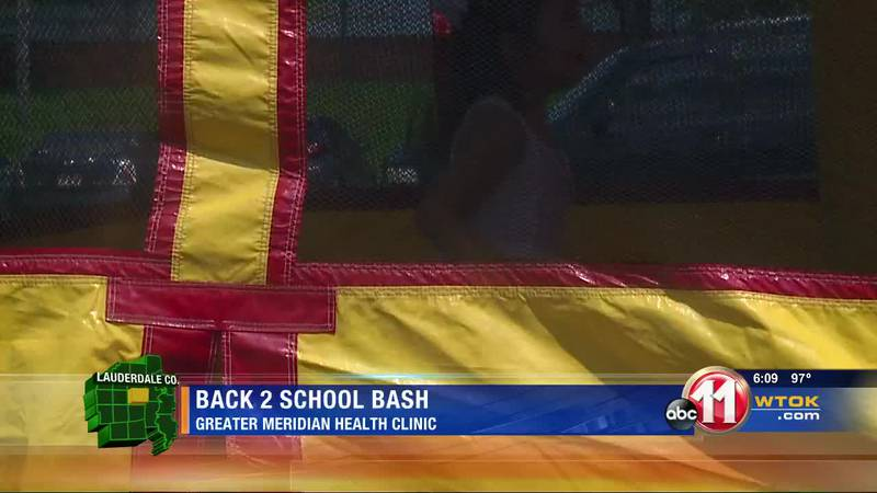Greater Meridian Health Clinic hosts back to school event