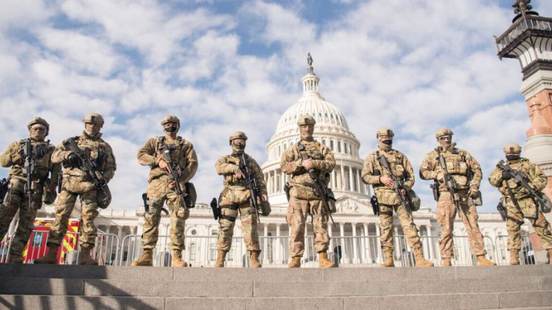 National Guard at U.S. Capitol