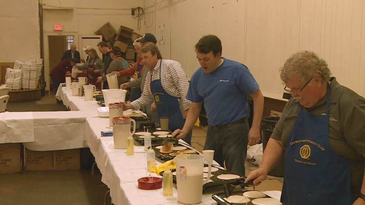 The Downtown Optimist Club of Meridian's 74th Annual Pancake Jubilee will be a little bit later...