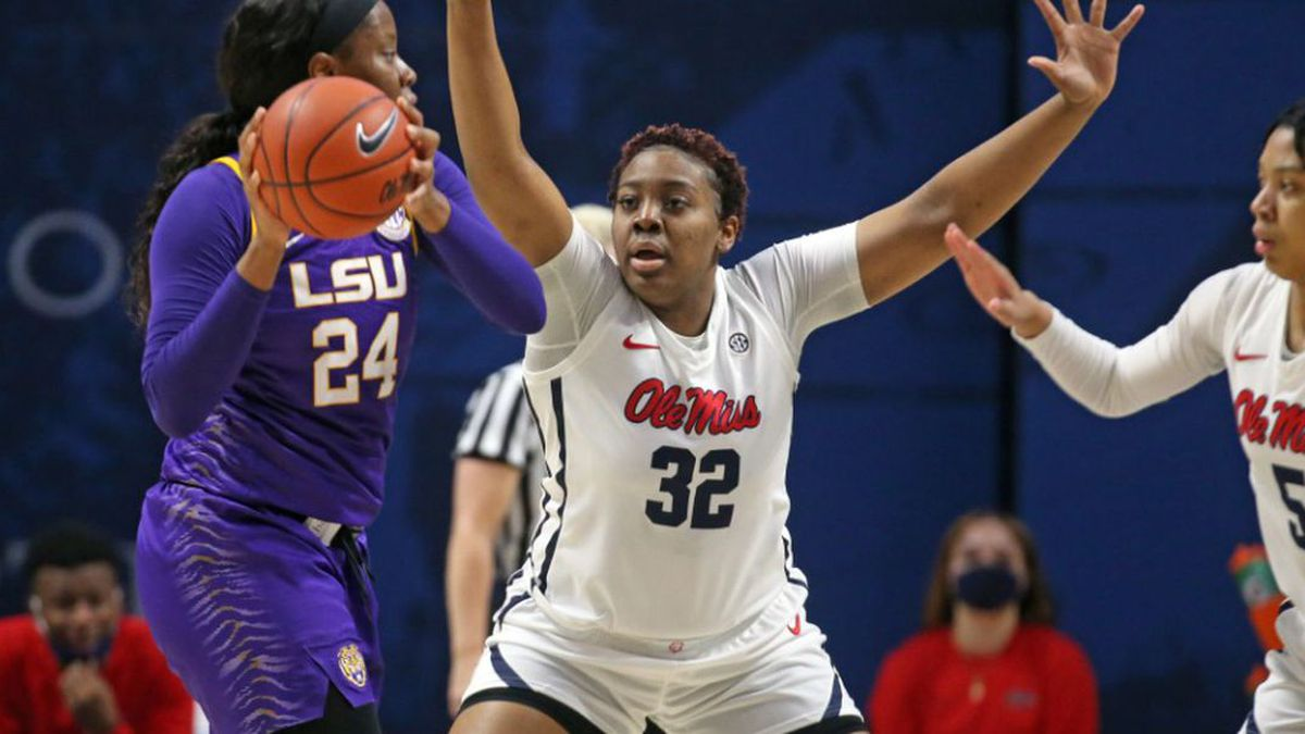 The Rebels fell to LSU 77-69 in overtime for their first loss of the 2020-2021 season