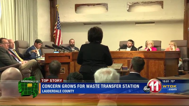 Concern grows for waste transfer station