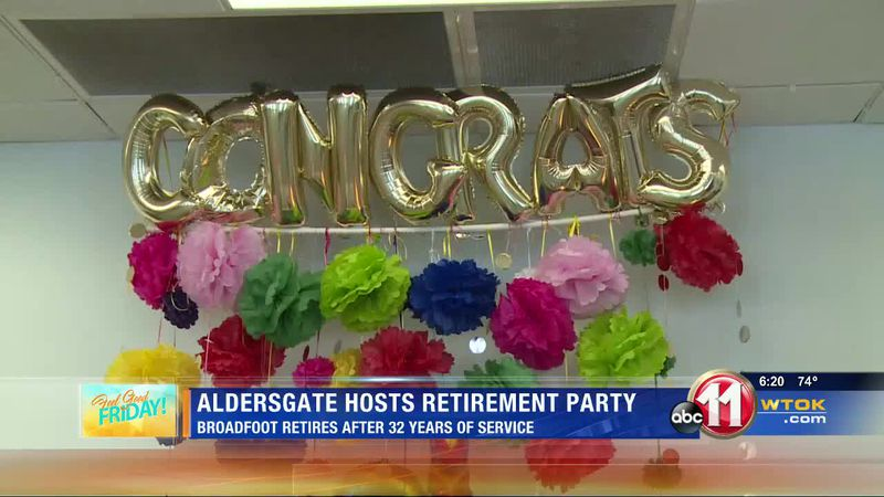 Longtime fixture at Aldersgate retires after 32 years of service