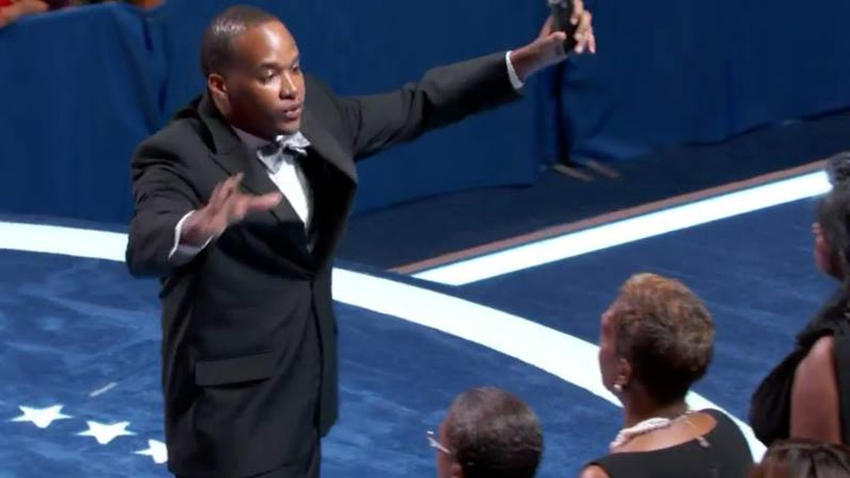 Meridian native Jonas Crenshaw leads the Mother Bethel AME Church Choir in Battle Hymn of the...
