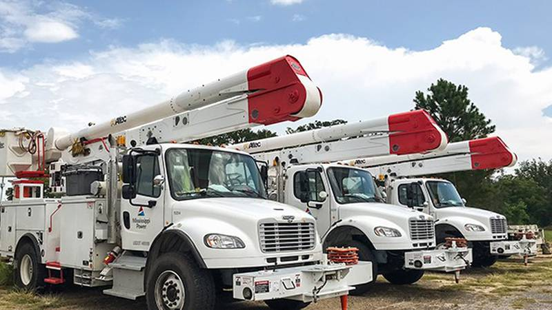 Mississippi Power linemen are working to repair lines and restore service to affected customers.