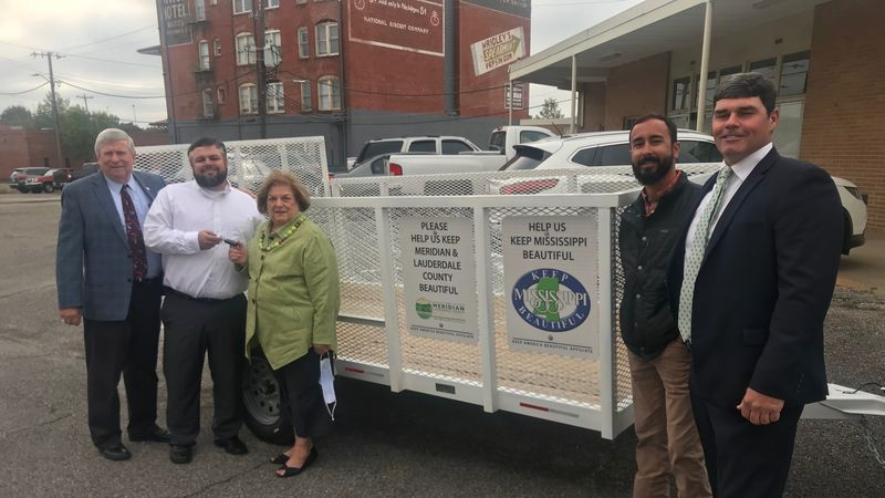 """""""Take Your Space"""", new trailer donated to city for cleanup efforts"""