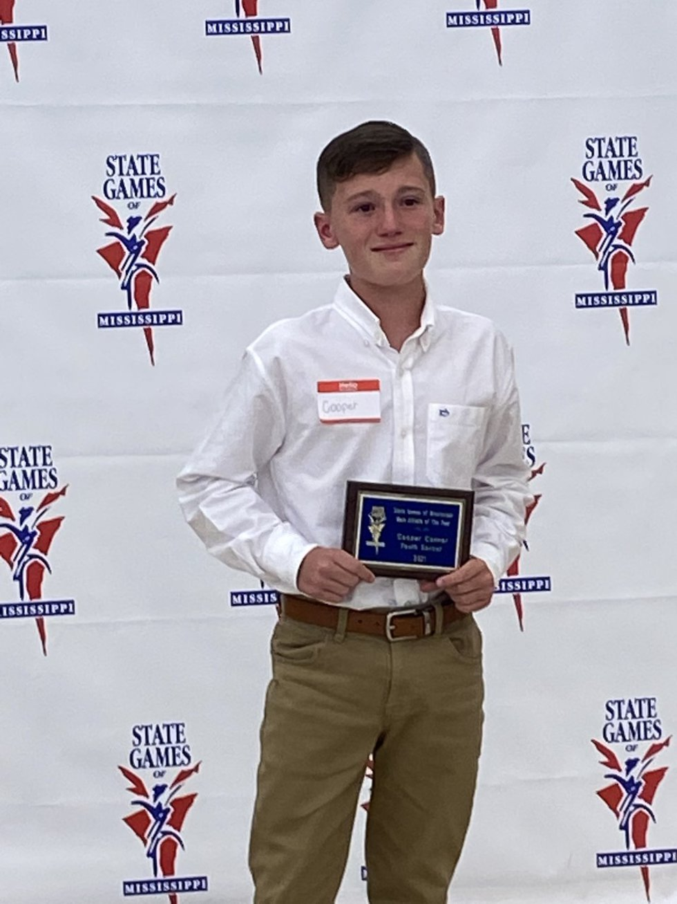12-year-old State Games soccer player has been awarded with the honors of being the 2021 State...