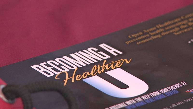 Becoming a Healthier U event in Meridian.
