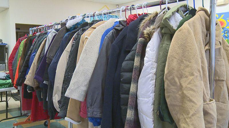 Wesley House distributes coats