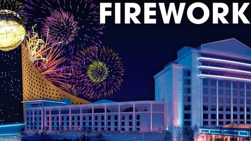 Pearl River Resort is hosting a fireworks show at 8 p.m. New Year's Eve.