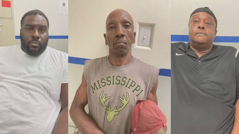 Three arrested in drug raid