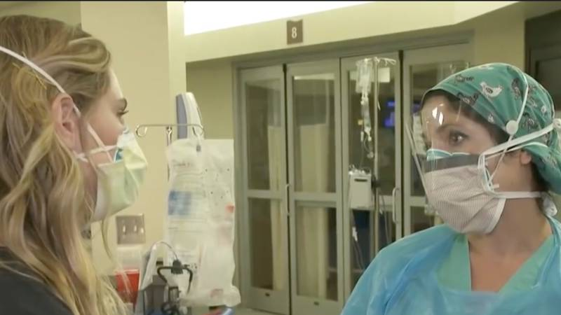 Mississippi nurse says surge in COVID patients has affected her 'in ways I never thought...