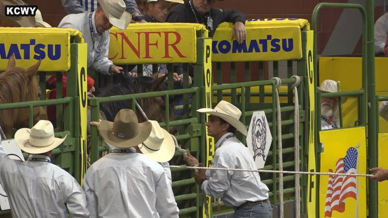 College National Finals Rodeo 2021