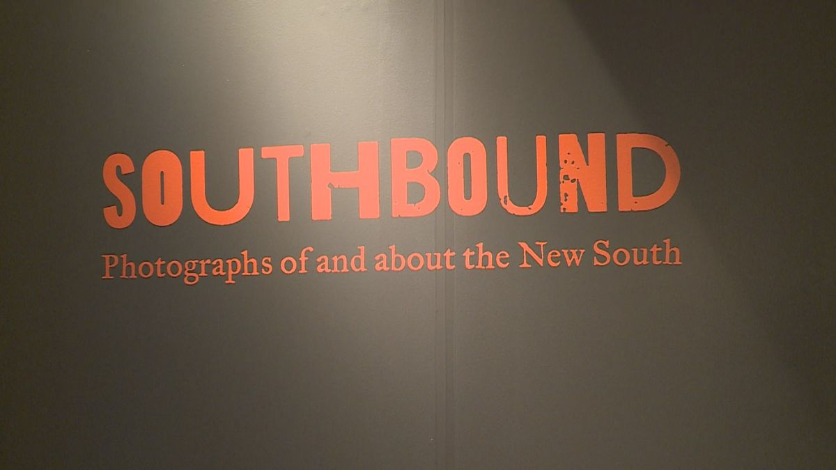 "The MAX and Meridian Museum of Art partnered to spit all 220 photographs of the new exhibit ""Southbound"" and to showcase them in their museum."