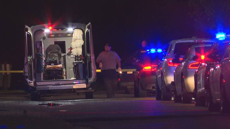 Law enforcement responded to a shooting Sunday evening at Village Apartments.