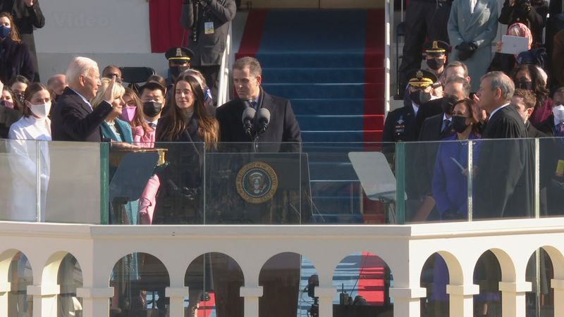 President Joe Biden inauguration.