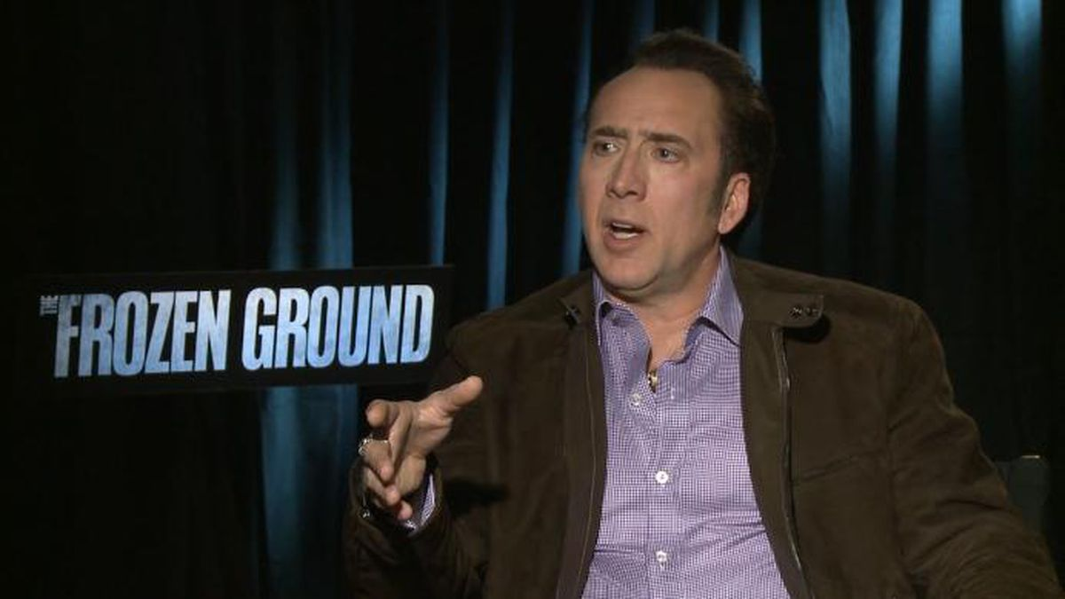 Actor Nicolas Cage is in final talks with Lionsgate for a new movie project in which cage would play a fictional version of himself. (Source: CNN)