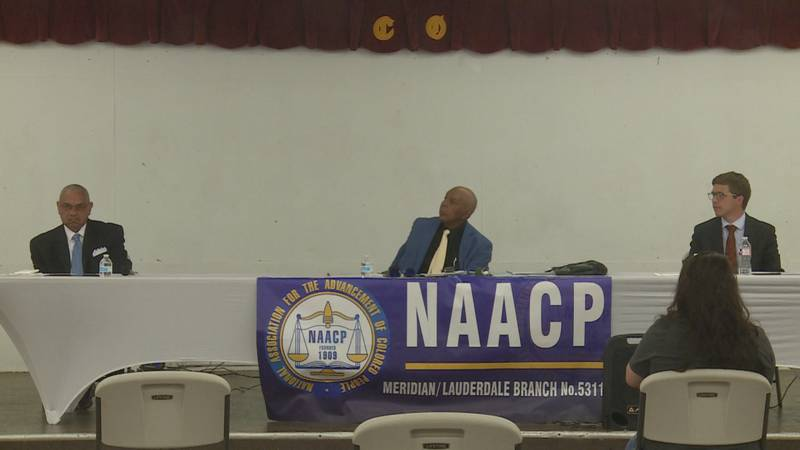 NAACP Meridian mayoral forum.