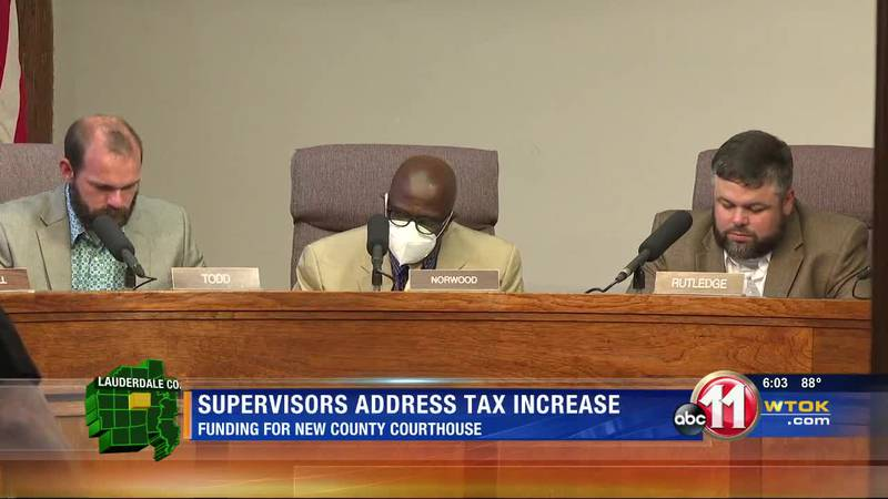 Supervisors discuss courthouse project, millage rate increase